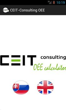 Ceit-Consulting OEE Calculator poster