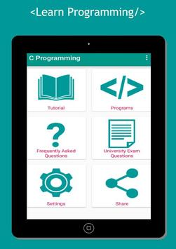 Basic C Programming Language apk screenshot