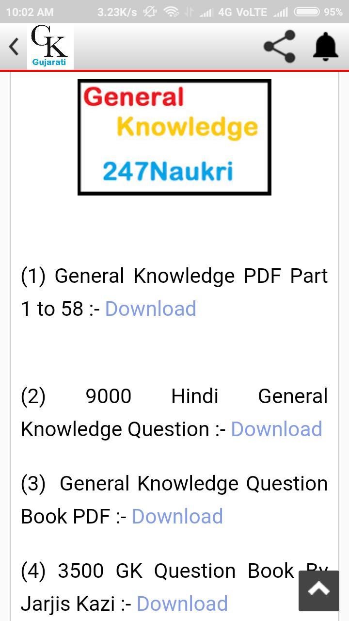 GK Gujarati PDF 2018 for Android - APK Download