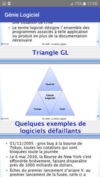 Génie Logiciel screenshot 3
