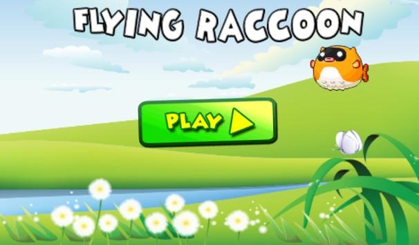 Flying Raccoon apk screenshot