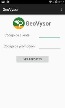 Geovysor poster