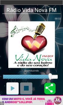 Rádio Vida Nova FM poster