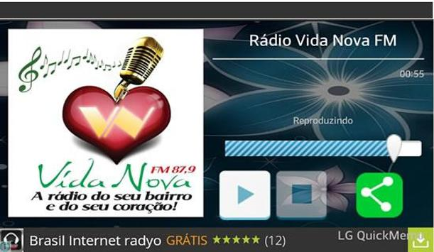Rádio Vida Nova FM screenshot 1