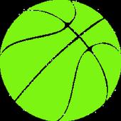 AR Simple 3D Basketball icon