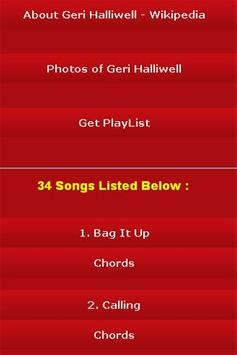 All Songs of Geri Halliwell apk screenshot