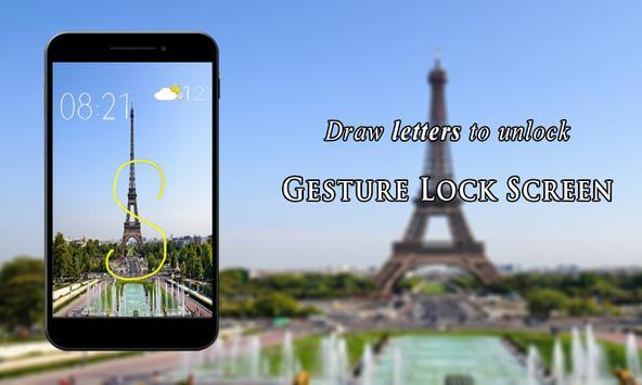 Gesture Lock Screen poster