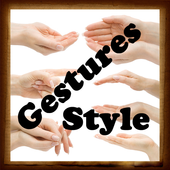 Gestures Style icon