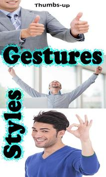 Gestures Style poster