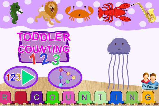 123 Kids - Toddler Counting - Educational Games poster