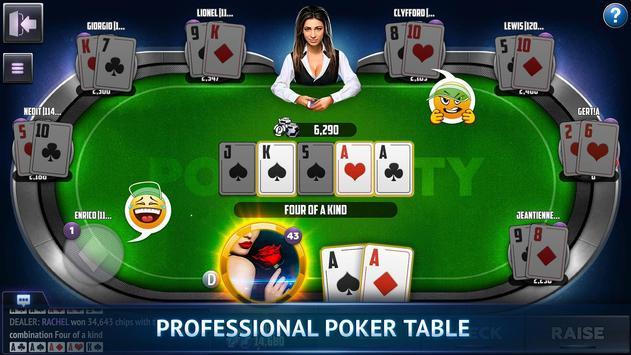 Poker City - Texas Holdem poster
