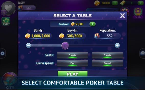Poker City - Texas Holdem screenshot 19