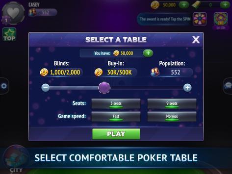 Poker City - Texas Holdem screenshot 11