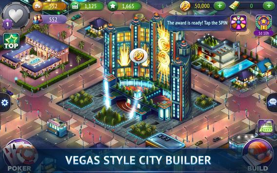 Poker City - Texas Holdem screenshot 1
