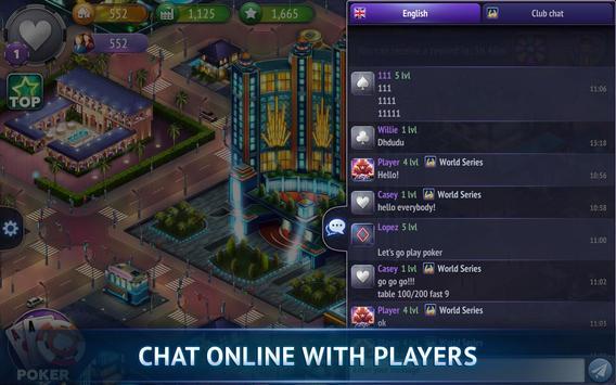 Poker City - Texas Holdem screenshot 21