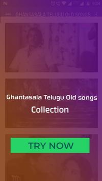 Ghantasala Telugu Old Songs screenshot 3