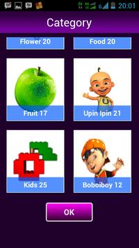 Memory Kids Malaya apk screenshot