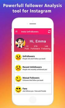 Followers and UnFollowers Analytics poster