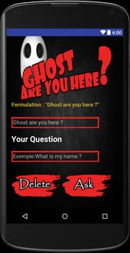 Ghost are you here ? poster