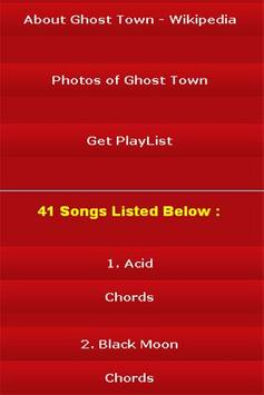 All Songs of Ghost Town screenshot 2