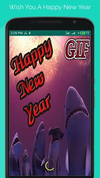 Happy New Year GIF 2018 poster