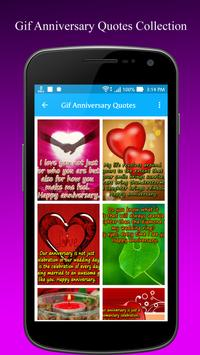 Gif Anniversary Quotes apk screenshot