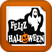 Ghost Disguised Halloween GIF LWP icon