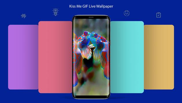 Kiss Me GIF Live Wallpaper screenshot 1