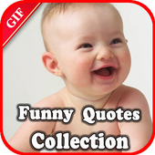 Gif Funny Quotes Collection icon