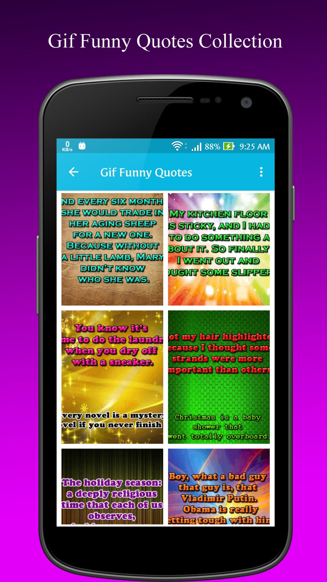 Gif Funny Quotes Collection For Android Apk Download