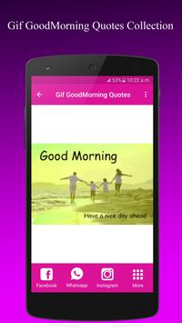 GifGoodMorningQuotesCollection apk screenshot
