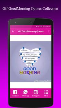 GifGoodMorningQuotesCollection screenshot 7