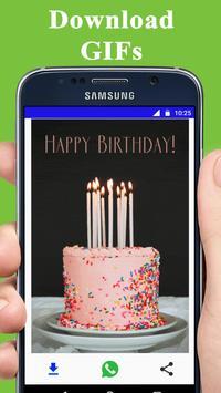 Happy Birthday GIFs 2018 apk screenshot