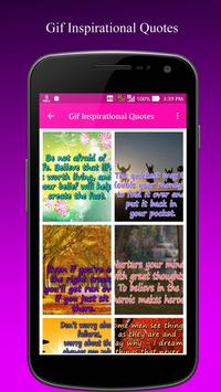 Gif Inspirational Quote Images apk screenshot