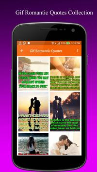 Gif Romantic Quotes Collection poster