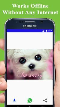 Sorry GIF 2018 apk screenshot