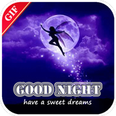 Gif GoodNight QuotesCollection icon