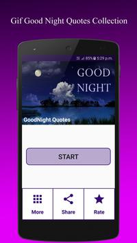 Gif GoodNight QuotesCollection poster