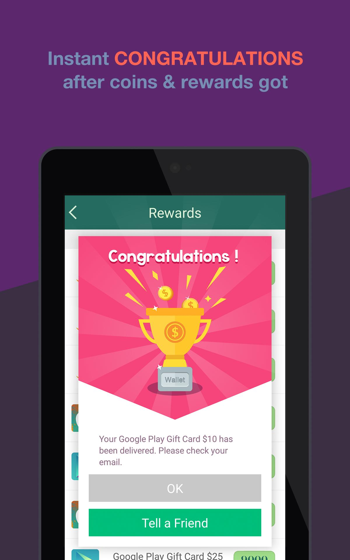 Gift Wallet - Free Gift Card for Android - APK Download
