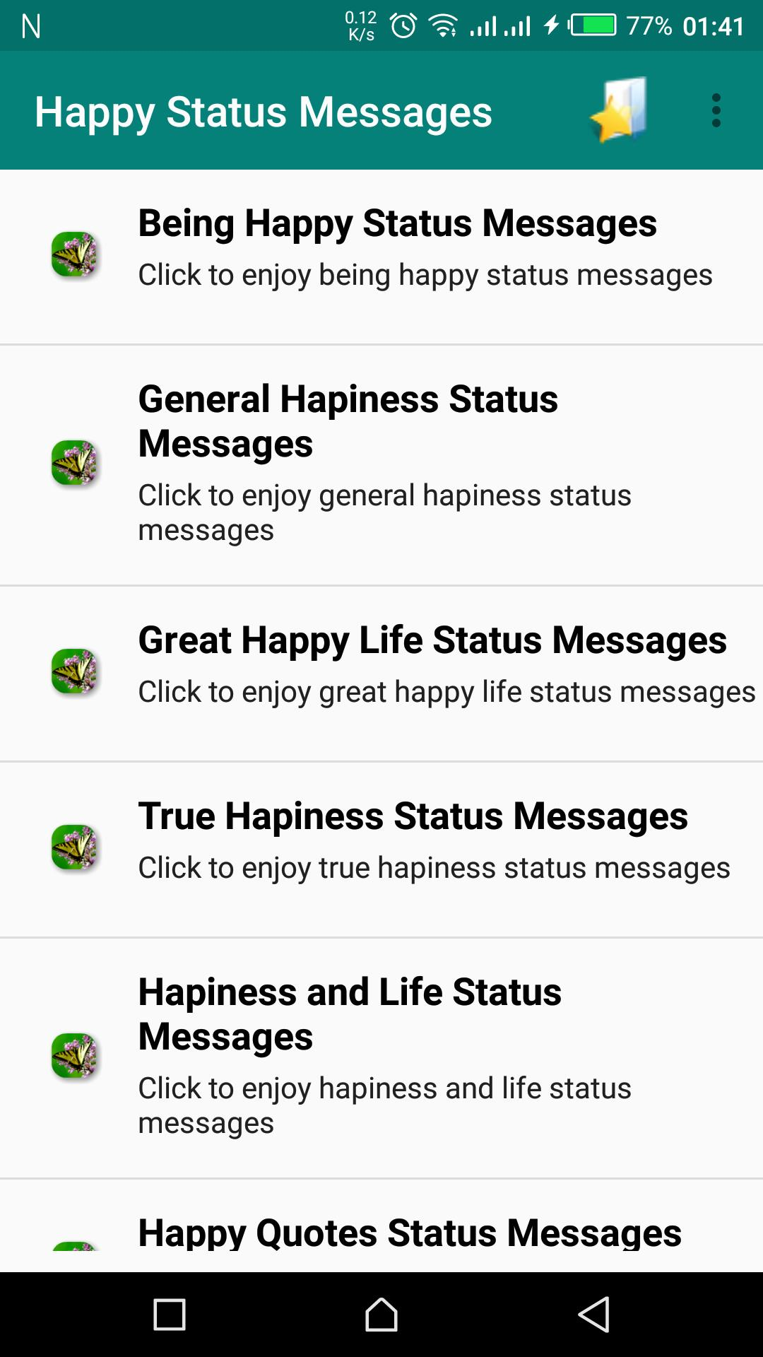 Happy Status Messages For Android Apk Download