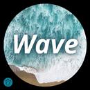 Wave - Customizable Lock screen APK