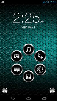 Metal Theme for Smart Launcher poster
