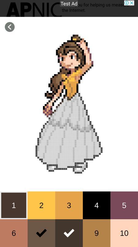 Páginas para colorear de chicas - Color por número for Android - APK ...