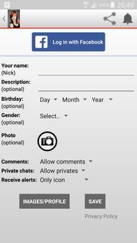 Girls Online Chat screenshot 2