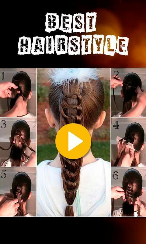 Easy Hair Style Video Tutorial For Android Apk Download