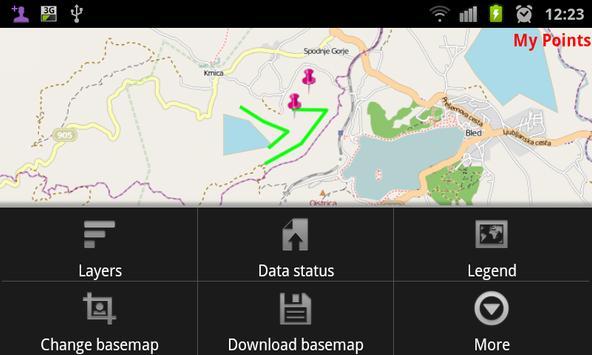GDi Field Map Demo screenshot 2