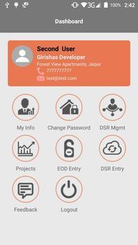 Daily Sales Report - RealDSR apk screenshot