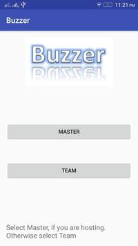 Q Buzzer poster