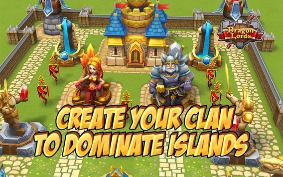 Dragon Lords: 3D strategy apk screenshot