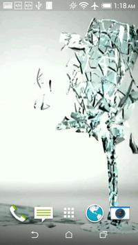 Glass 3D Live Wallpaper apk screenshot